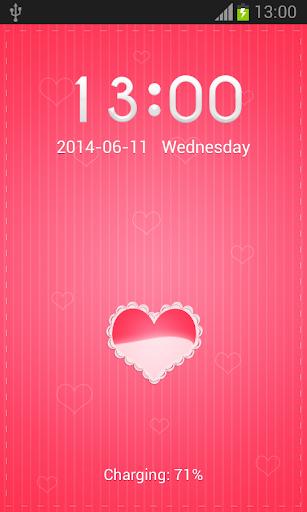 【免費個人化App】粉紅色的心去更衣室-APP點子