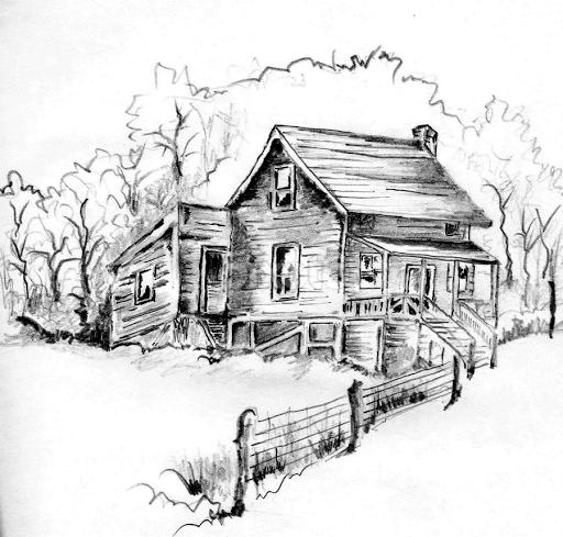 Superior Wooden House By Pinaki Ranjan Das   Drawing All Drawing ( Pencil, Sketch,  Black