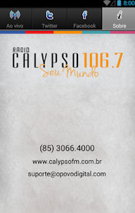 Calypso FM 106,7- screenshot thumbnail