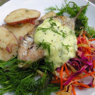 Umami Aioli For Fish, Especially Bluefish