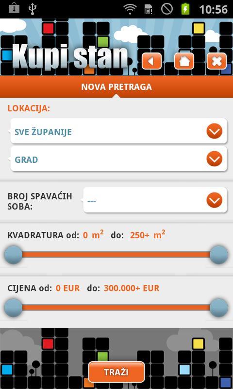Kupi Stan- screenshot