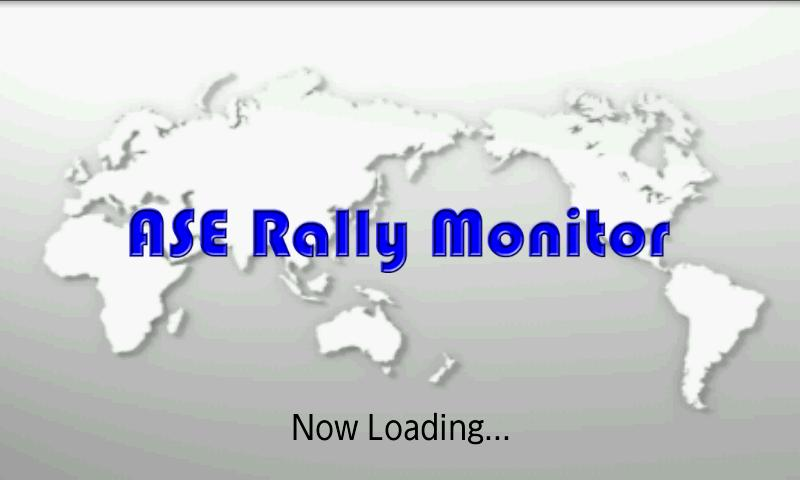 ASE Rally Monitor 110- screenshot