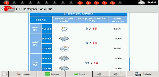 Descargar El Tiempo Sevilla Para Pc Gratis última Versión Com