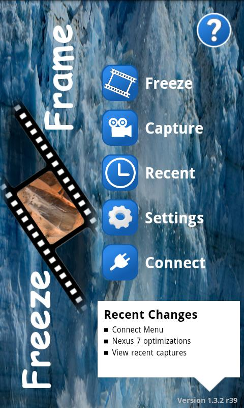 Freeze Frame  - Photo Grabber - screenshot