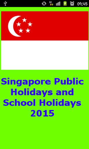 Singapore Holiday 2015