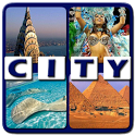 4 Pics 1 Word - Cities icon
