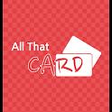 올댓카드 – 보안카드/신용카드/은행계좌 관리 logo
