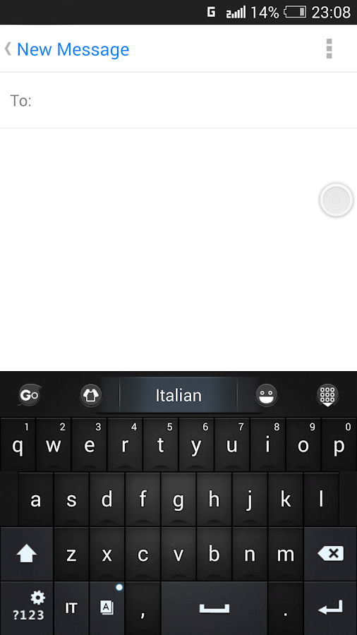 Italian for GO Keyboard- Emoji- screenshot