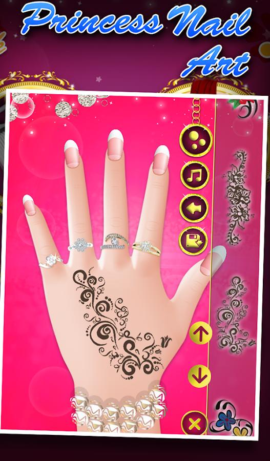 Princess nail art android apps on google play princess nail art screenshot prinsesfo Images