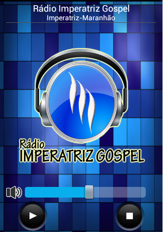 Radio Imperatriz Gospel: captura de tela