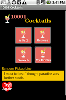 Screenshot of 10001 Cocktails