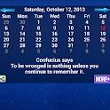 Confucius Calendar icon