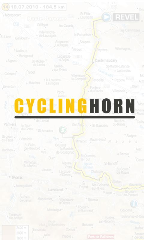 Cyclinghorn- screenshot