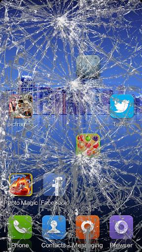 惡作劇之破碎和裂紋屏幕