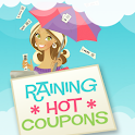 Raining Hot Coupons logo