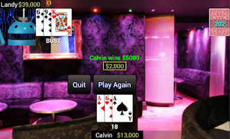 Screenshot of Super Five Card Draw Poker