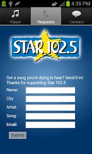 Star 102.5 - screenshot thumbnail