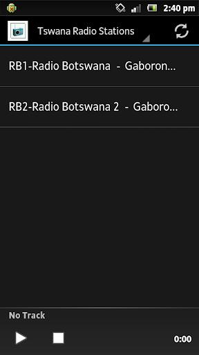 Tswana Radio Stations