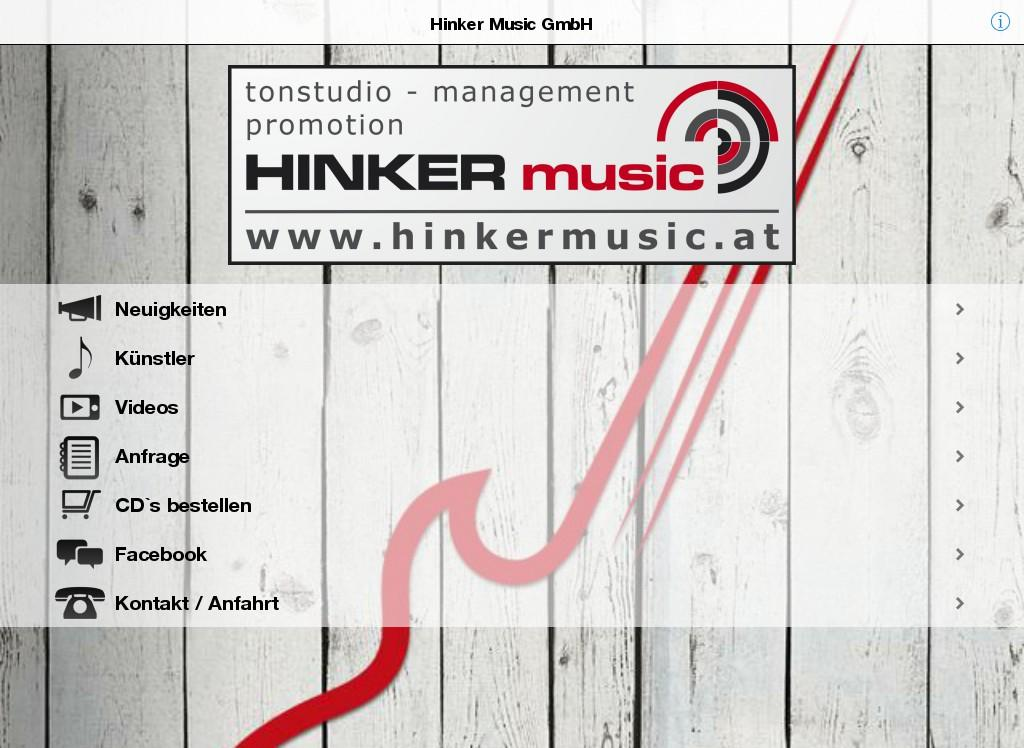 Hinker Music- screenshot
