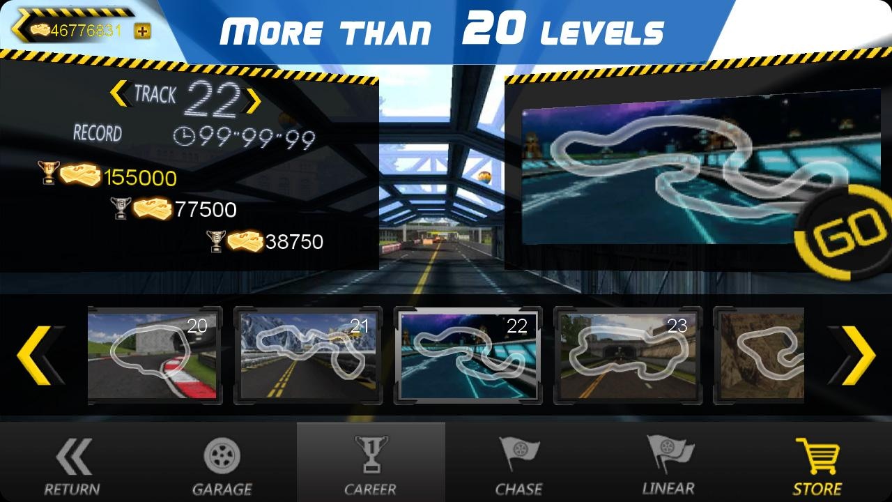 Crazy Racer 3D - screenshot