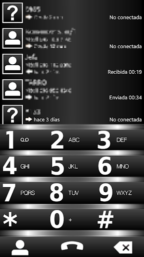 THEME BLACK B-10 FOR EXDIALER