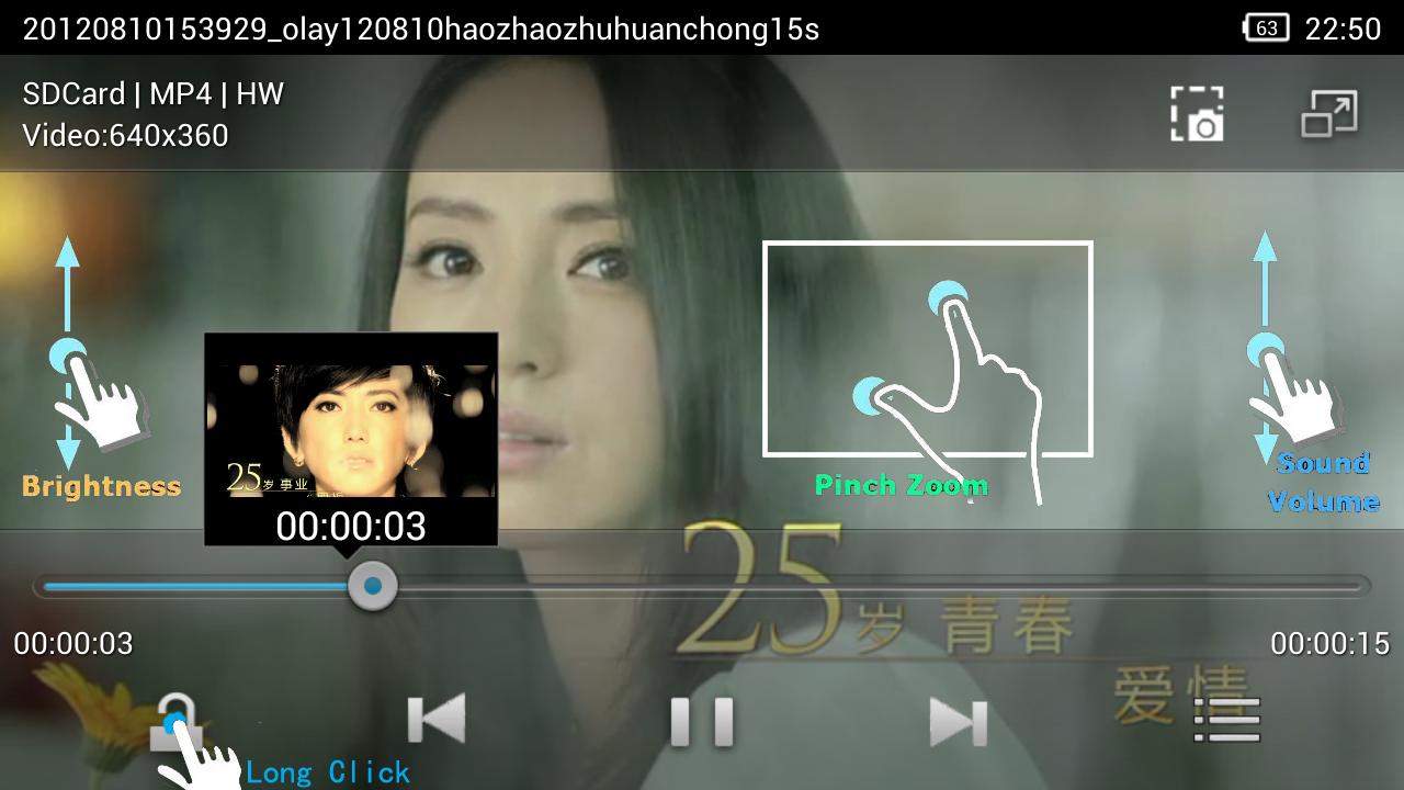 PlayerX Pro Video Player - screenshot