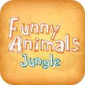 Funny Animals Jungle icon