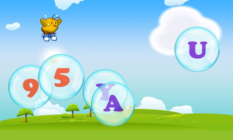 Learn Alphabet with Bubbles! - screenshot