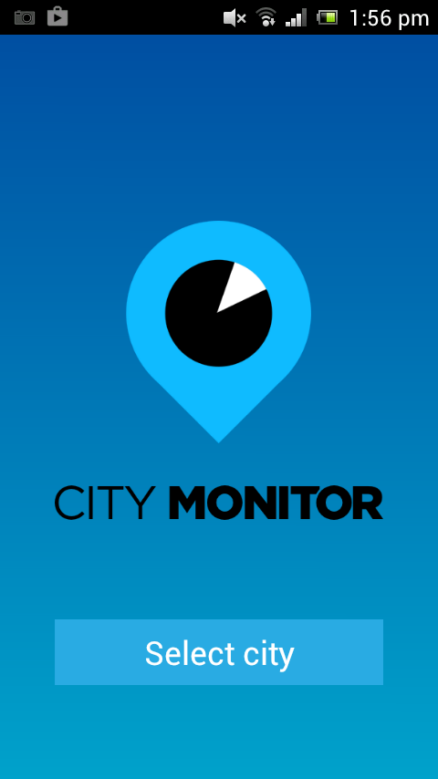 City Monitor- screenshot