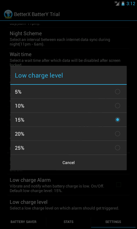 BetterX Battery(2 X Life) - screenshot
