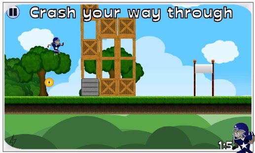 Crash Boy Free- screenshot thumbnail