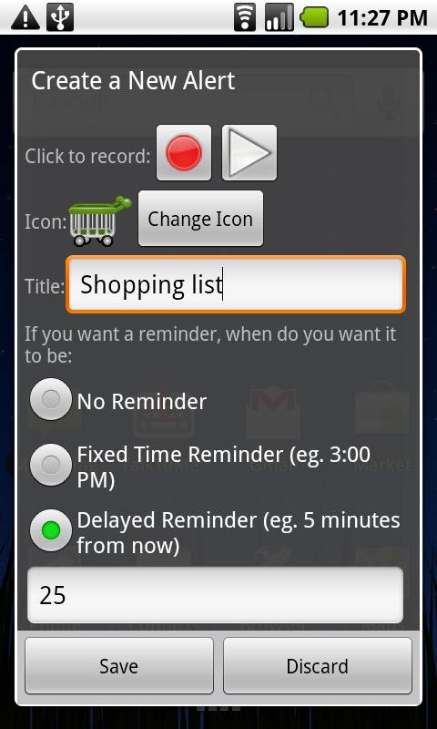 Quick Voice Alerts screenshot #1
