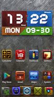 Screenshot of Graphics Clock Widget