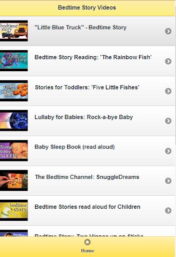 Bedtime Story Videos