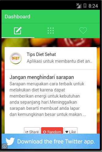 Tips Diet Bahasa Indonesia