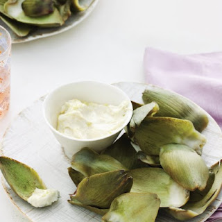 Steamed Artichokes with Lemon-Garlic Aioli