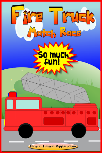 Fire Truck Kids Match Race