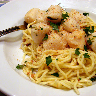 Capellini with Nantucket Bay Scallops.