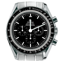 Omega Speedmaster Analog Clock icon