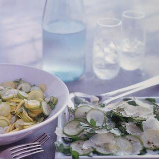 Summer-Squash Salad with Herbs and Pecorino Fresco Recipe