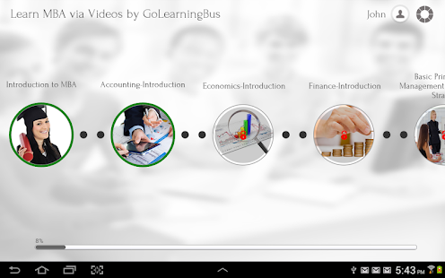 Learn MBA via Videos - screenshot thumbnail