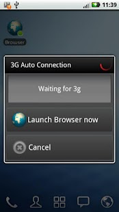 [KEY] 3G Auto Connection