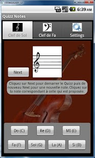 Quizz Notes G - screenshot thumbnail