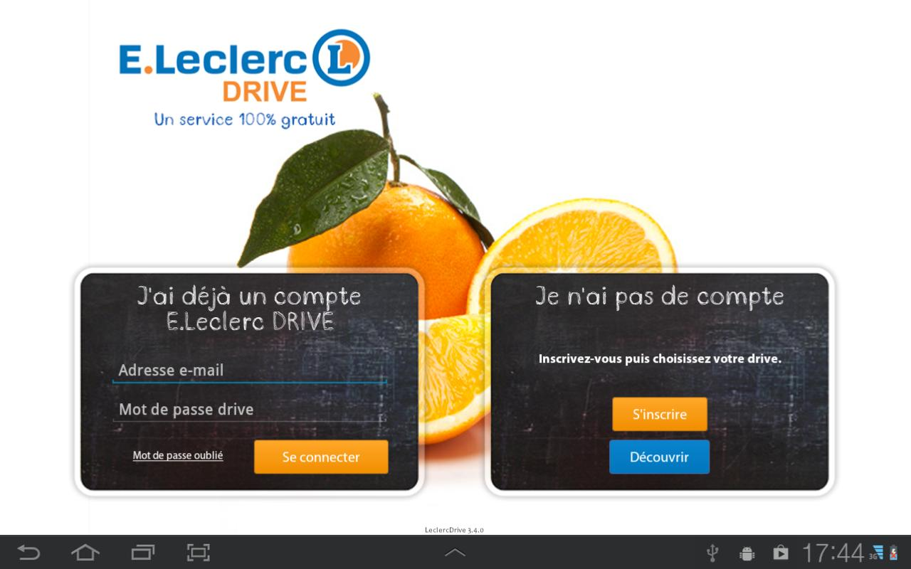 LeclercDrive- screenshot