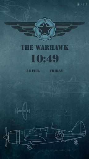 Warhawk Live Locker Theme