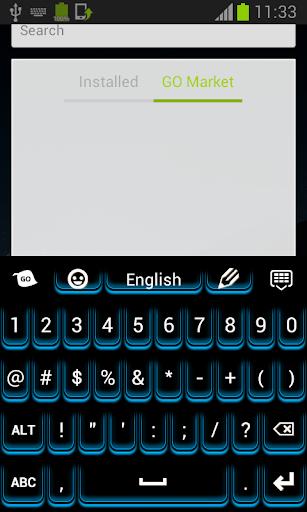 玩個人化App 藍色夜光鍵盤免費 APP試玩
