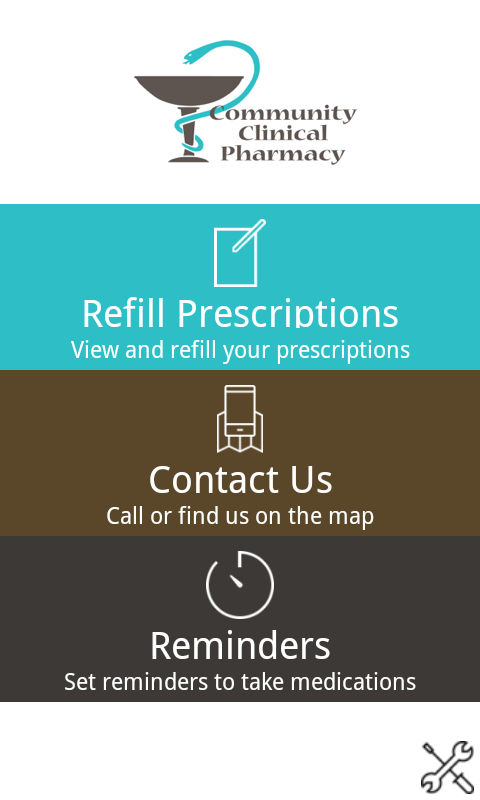 Community Clinical Pharmacy- screenshot