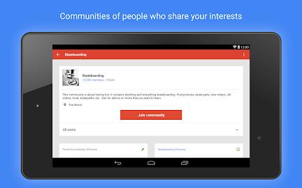 Google+ Screenshot 2