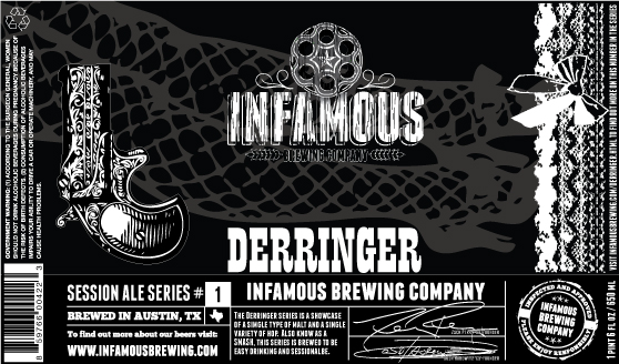 Logo of Infamous Derringer - SMASH Series