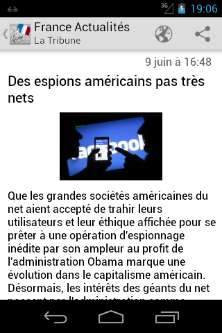 France Actualites - screenshot